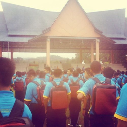 The journey just begun, fighters. Matrikulasi KPM Kmns
