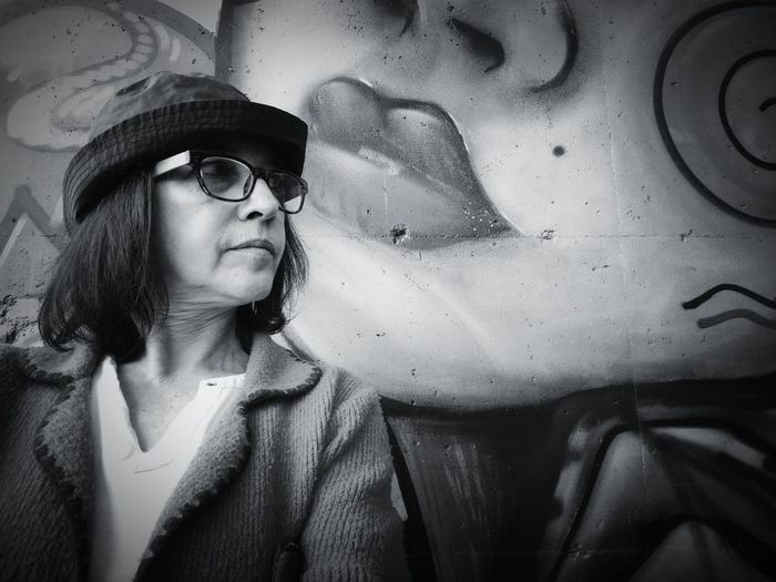 Art gives me back what takes away my life Profile View Aging Wrinkles JustMe Lost Female Pensive Mood Captures Bnwmood Bnw_life Attitude Black And White Portrait Woman Portrait Woman Of EyeEm Self Portrait Monochrome_life Human Face Portrait Close-up