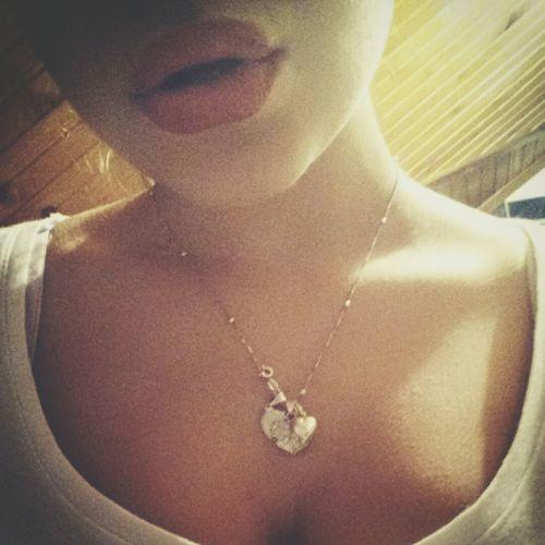 Myself Necklace Red Lips Blabla