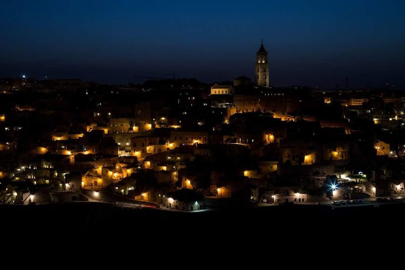 Ammirando la bellissima Matera... Night Cityscape Old Town Illuminated No People Religion Outdoors City Architecture Travel Destinations Urban Skyline Sky Politics And Government Astronomy Wanderlust Waphaphotographer Globetrotter Italia Summer EyeEmNewHere Worldplace Travel Matera Matera View Matera, Italy