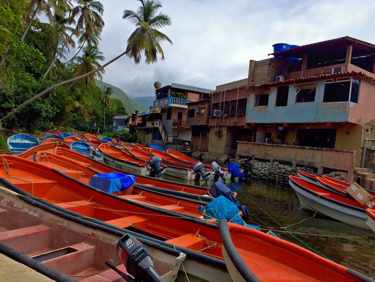 Architecture Boat Built Structure Choroni Cloud - Sky Mode Of Transport Nautical Vessel Outdoors Tree Venezuela