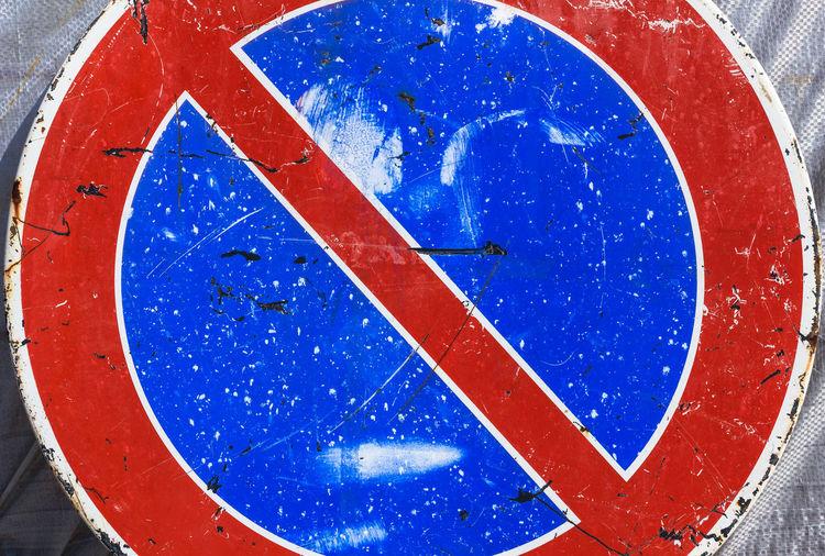 Close-up of stop sign