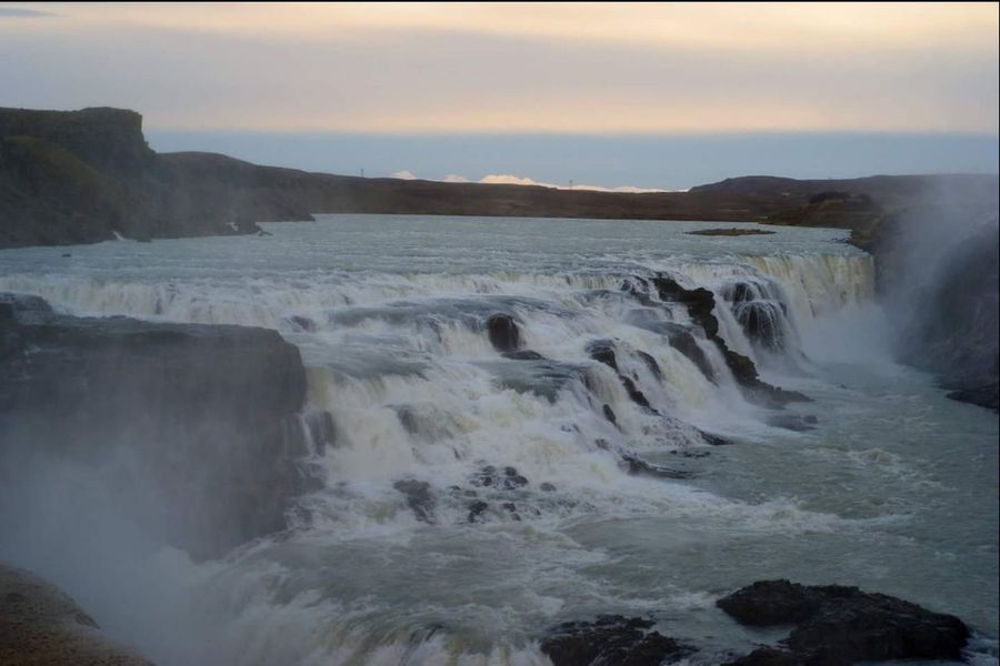 Iceland Iceland Memories Gulfoss Waterfall Cold But Beautiful Waterfalls Beautiful Nature