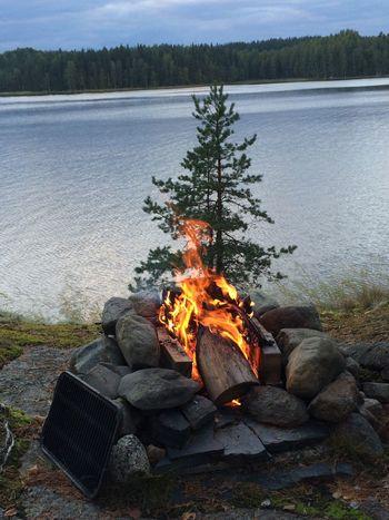 Camp Fire Fire