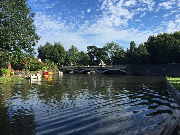 Weybridge River canal Canal