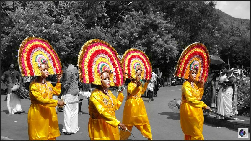 Gokulashtami 2K16 - A Bright FestivalMy Year My View Gokulashtami Janmashtami Krishna Jayanthi Hindu Festival India Dance Mobilephotography Uniform Yellowdress Group Culture