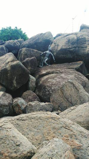 A Rocky Island At Chilika,Rambha,Odisha