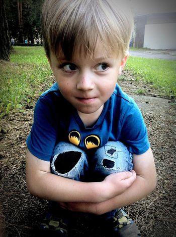 Brother Eyes Blue Eyes Nice Fun Funny Child Children Kid Kids Siblings