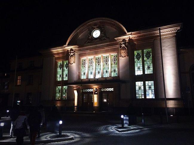 Bahnhof Badnauheim Architecture IPhoneography Iphone5s Eye4photography  EyeEm Goodnight good night my friends ;-)