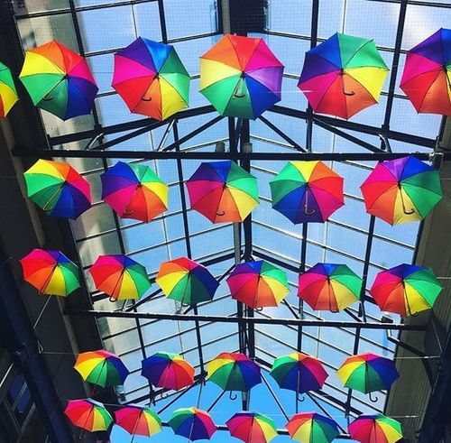 Colourful❤️ Colour Esslingen Multi Colored Full Frame Pattern No People Backgrounds Large Group Of Objects Stained Glass