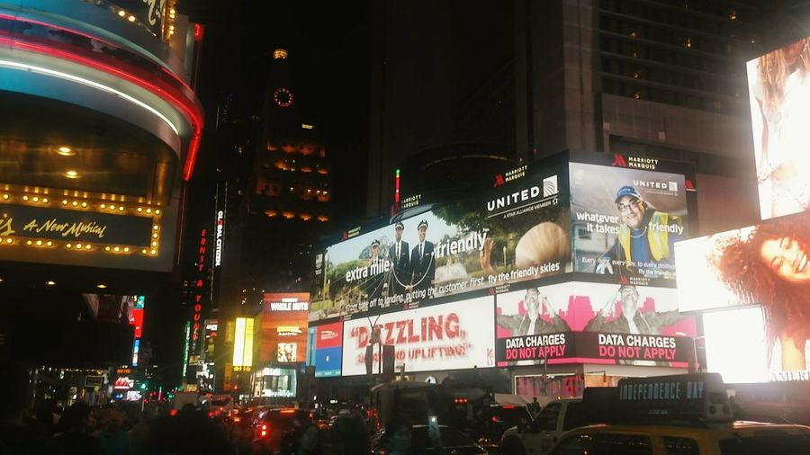 Bigcitylife Bigcitylights Nycatnight Times Square NYC TimesSquare Nyclife Lovemesomenyc Taking Photos Enjoying Life