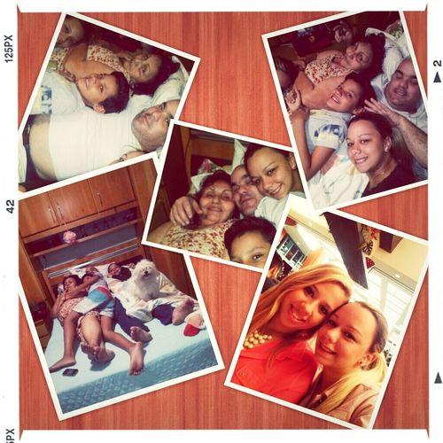 Meus amores :) #familia#bagunçabooa#camadatiia#lovelovelove