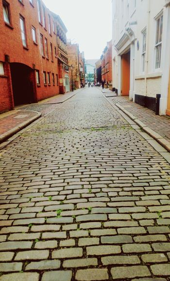 Exploring the City Of Culture 17. Architecture Built Structure Building Exterior The Way Forward Day Outdoors Sky Hull Hull City Of Culture 2017 Cobblestone Cobbles Cityofcultute2017 Breathing Space