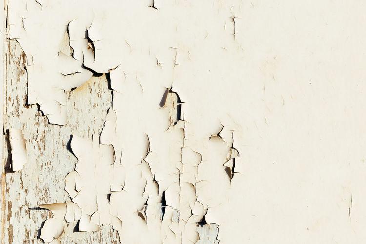 Full frame shot of broken wall