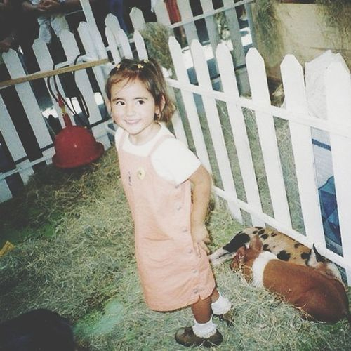 I was so fucking cute, just like a princess