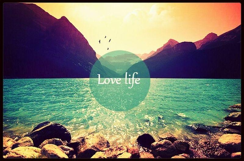 不管生活怎么样,我问要做热爱生活的孩子!