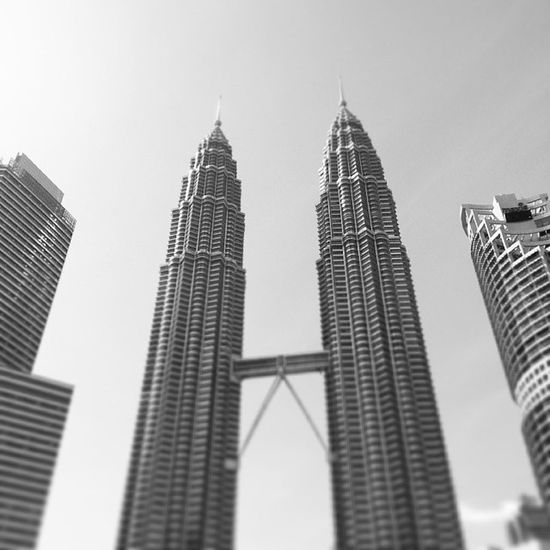 Standing tall Petronas Twintowers Malaysia