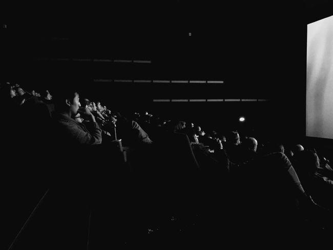 Cinema MOVIE Audience Crowd Blackandwhite Lines Screen Negative Space Berlin