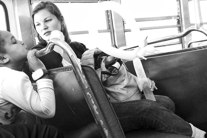 Black And White Black And White Photography Bw California Day F Line MUNI People Samsung Galaxy S III San Francisco San Francisco In Black And White SF Snapseed Street Photography Streetcar Two People