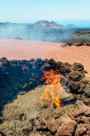 Lanzarote Island, Canary Island, parque national de Timanfaya, Montanas del Fuego Canary Islands Fire Landscape Lanzarote Lanzarote Island Volcanic  Volcanic Island Volcano Volcano Crater The KIOMI Collection
