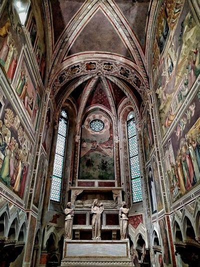 Padova, Aprile 2019 Hdr_Collection Cappella Degli Scrovegni Giotto Interior Historical Building Art Architecture