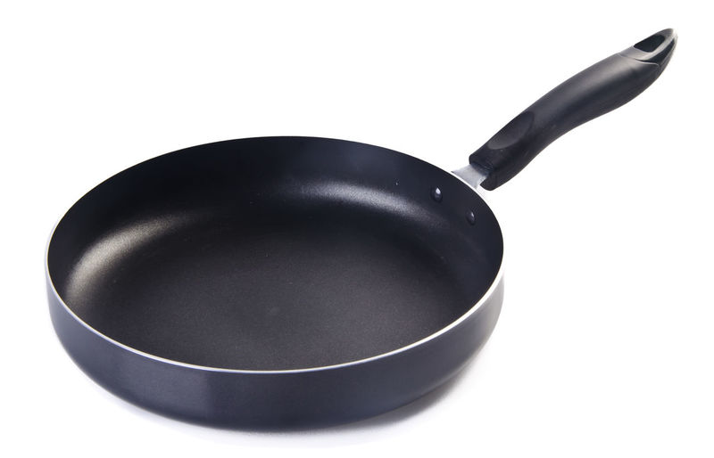 Black Color Close-up Cooking Pan Cooking Utensil Copy Space Cut Out Food Food And Drink Frying Pan Household Equipment Indoors  Kitchen Utensil Metal No People Pan Saucepan Single Object Skillet- Cooking Pan Steel Still Life Studio Shot White Background