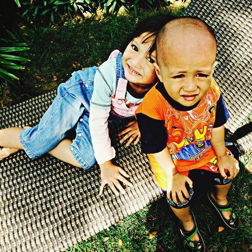 :: ki(n)ds of expression :: Kids Fun Times Siblings Playing