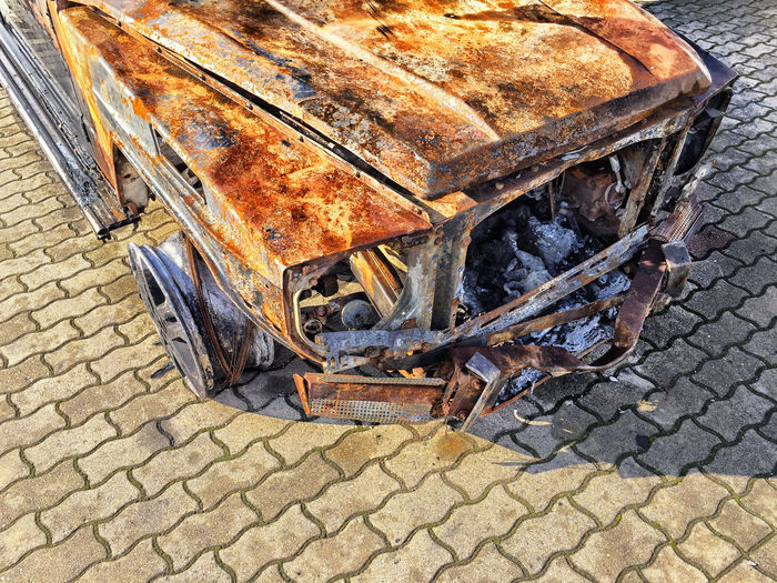 burnt out car Bad Condition Burnt Out Damage Rust Bad Condition Car Burnt Down Burnt Down Car Burnt Down Vehicle Burnt Out Car Car Car Damage Car Damaged Damaged Damaged And Wrecked Damaged Car Damaged Vehicle Front View Outdoors Rusty Rusty Metal Vehicle Vehicle Damaged Wrecked Wrecked Car Wreckedcar