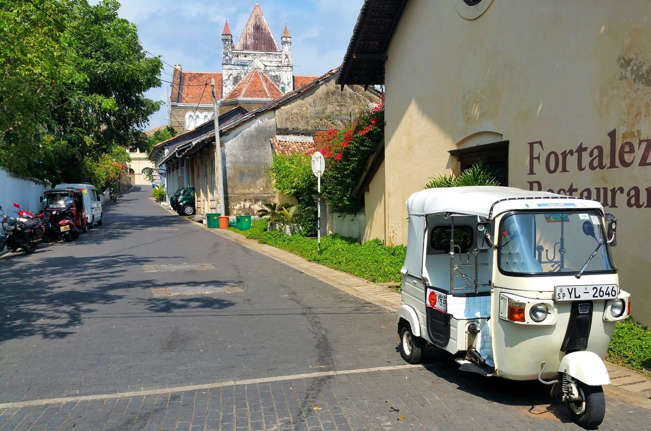 Galle Fort No People Sri Lanka Travel Photography Tuc Tuc