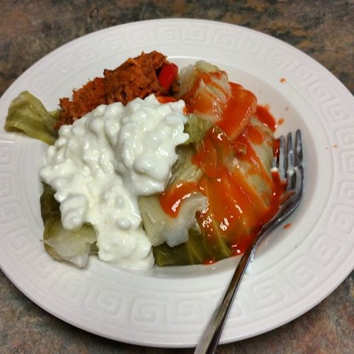 Spicythaituna Cottagecheese Cabbage Yummy #Healthy