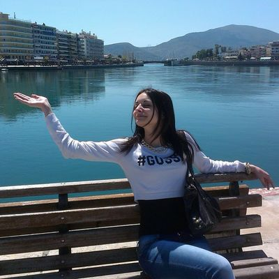 Doin Nuts Cause Fun Yolo Χαλκίδα Chalkida Sun Beautiful Day Greece