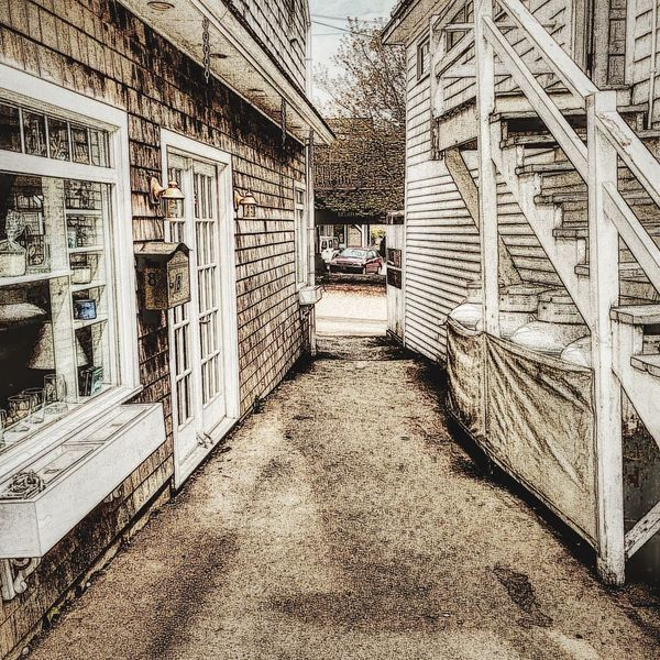 Alley Playing With Filters Boothbay Harbor Maine