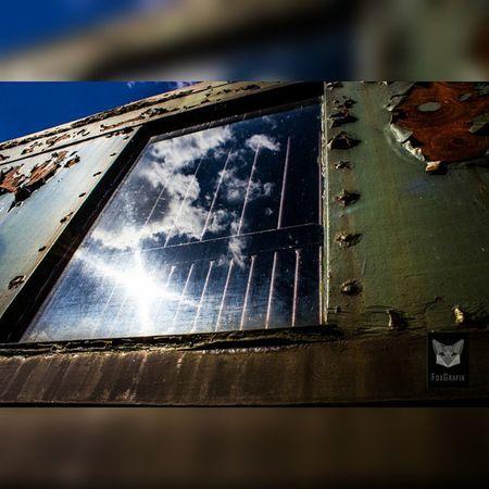 Trainwindow Cloudreflection Train Zug Oldtrain Clouds Fotografie Salzgitter Wolken Spiegelung Reflection