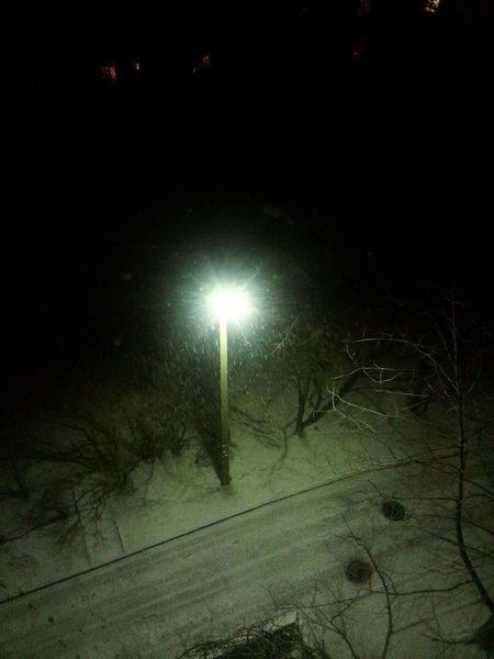 First_snow Snow ❄ Happy Beautiful Light Night Lights