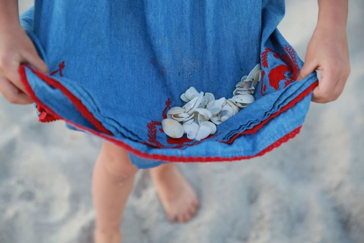 Blue Wave Childhood Fashion Photography Beach Children