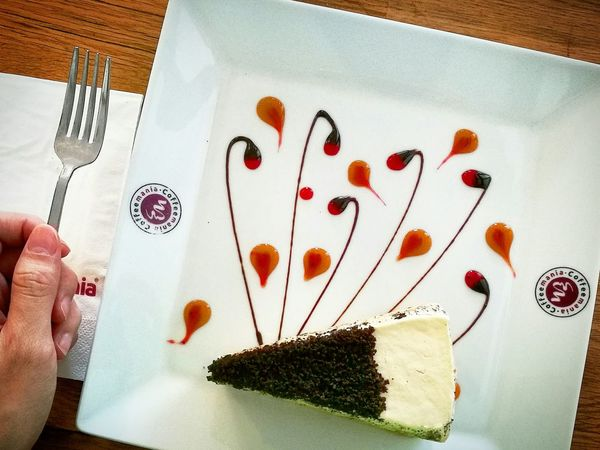 My favorite always .❤ Oreocheese Millecrepe First Eyeem Photo