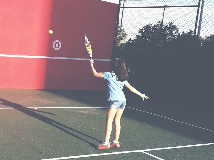 Tennis Childhood Court Tennis Ball Racket Racket Sport Tennis Tennis Racket