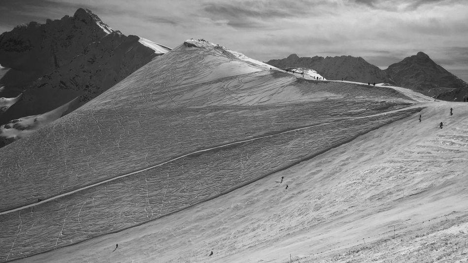 IPhone IPhoneography Shootermag Landscape Simplicity EyeEm Nature Lover Landscape_Collection Light And Shadow Skiing Traveling Minimallandscape Monochrome Blackandwhite