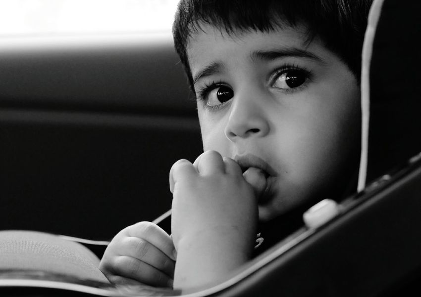 Finger licking good Baby ❤ Baby Toddler  Toddlerlife Toddlerswag Toddlerjoy Toddler Photography Toddlers #YoungMomsClub Toddler Perspective (Looking At Life As A 3 Year-old) Travelling Roadtrip Finger Lickin' Good Eye4photography  EyeEm Bnw Car Ride  Carefree Safety First! Safehaven Safetravels Safety Zone Safe , Bored ! Eyes Are Soul Reflection Eyes Watching You Eyes<3 Eyes Wide Open