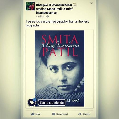 Smita Patil: A Brief Incandescence SmitaPatil Hagiography Noveltime Instanovel
