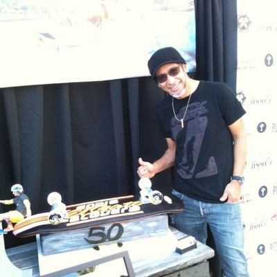 @eddieelguera and his skate cake!