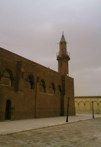 Минарет мечети в Каире. египет архитектура Egypt Architecture