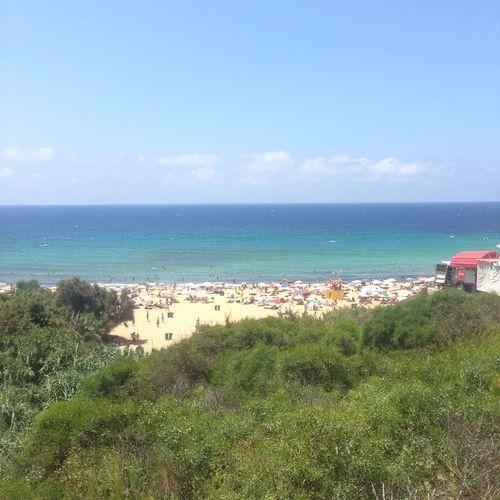 Malta Golden Bay Maltese Family Beech Sand Holiday Sunny