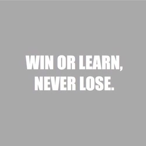Win Learning Never Lose