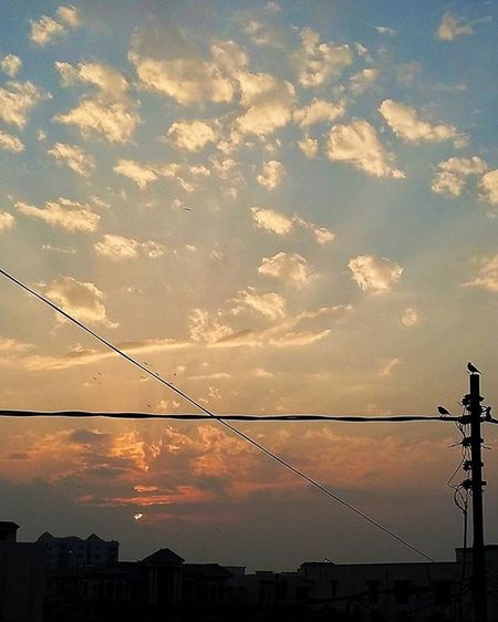 How I've missed this sunset! Still missing my sunset partner Sal! Karachi Pakistan Sunrays Sunsetsniper Aimanadeel Sunset Photooftheday Photographerslifeforme Orange Love Blueskies Warm Gorgeous Lovethis