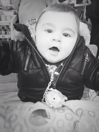 My Baby Thug<3... Monochrome Black & White