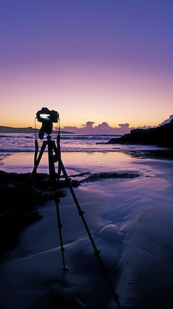 Nature Photography Themes Camera - Photographic Equipment Sunset Beauty In Nature Photographer Tripod Digital Camera Lake Landscape Outdoors Sky Technology Scenics Milky Way Beach Astronomy Day Lieblingsteil