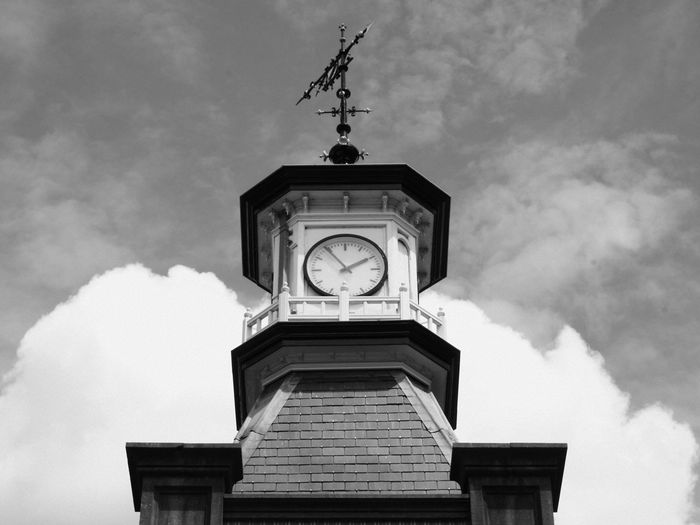 Architecture Clock Clock Tower Day Hour Hand No People Old-fashioned Time Time Tower. Tower Clock Clocktower