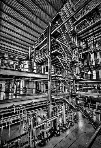 twisted EyeEm Best Shots - Black + White Blackandwhite Industrial Monochrome Industrial Photography