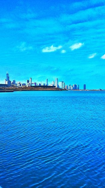Fluffy Clouds Sky And Clouds Sky Hello World Chicago Colour Of Life Lake Beach Skyline Eyeem Photo